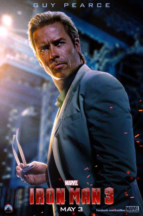 Guy Pearce como Aldrich Killian.
