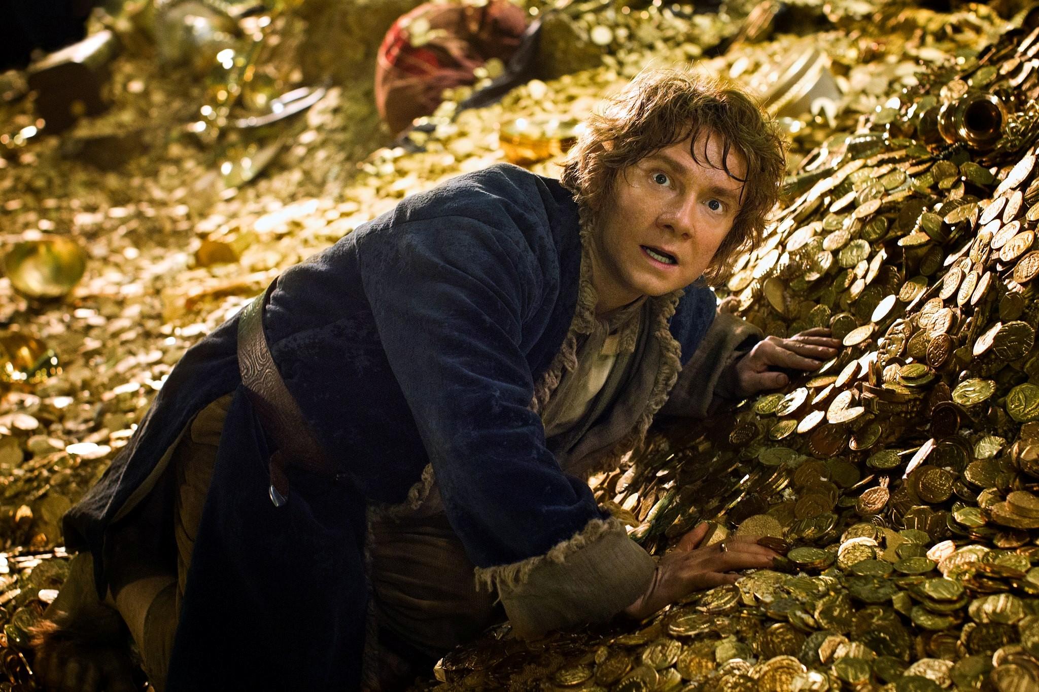 El Hobbit: La Desolación de Smaug.