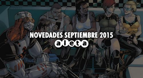 Aleta Ediciones novedades septiembre 2015