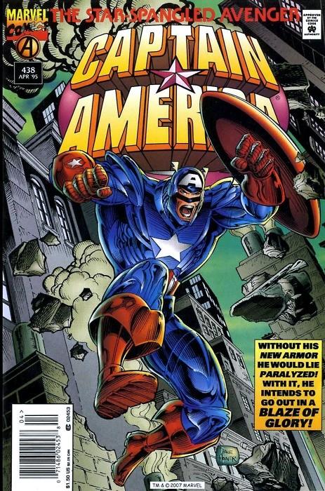 Captain America Vol.1 Nº438