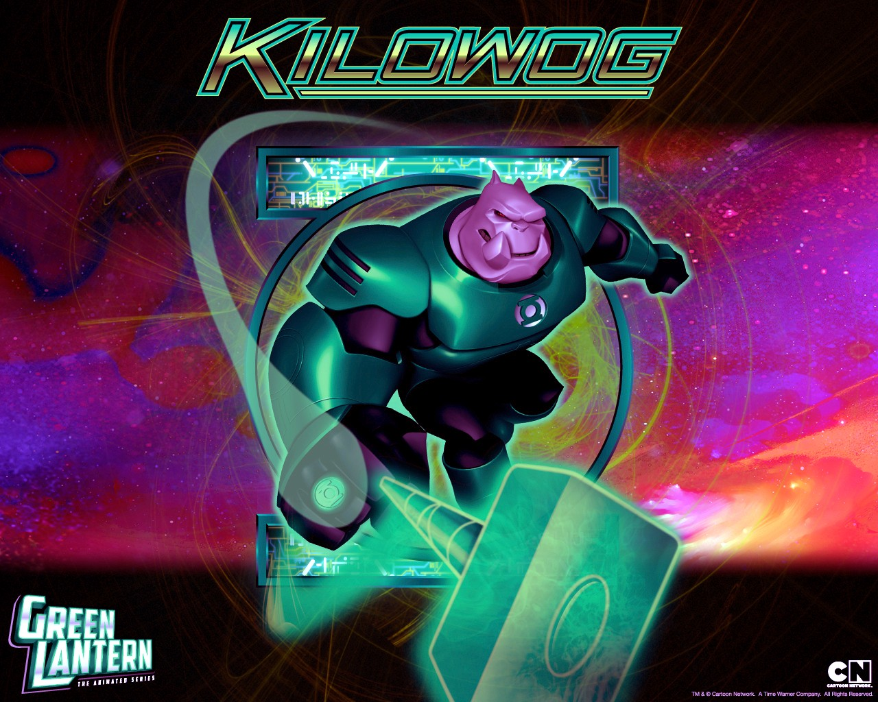 Green Lantern Animated Series - Kilowog