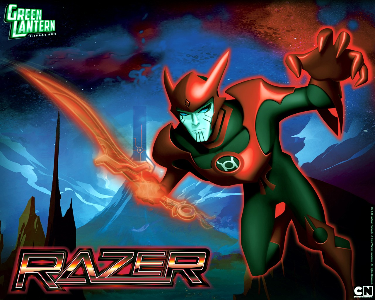 Green Lantern Animated Series - Razer