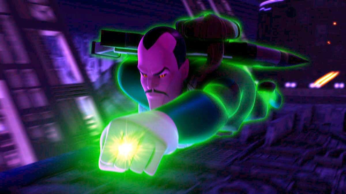 Green Lantern Animated - Sinestro