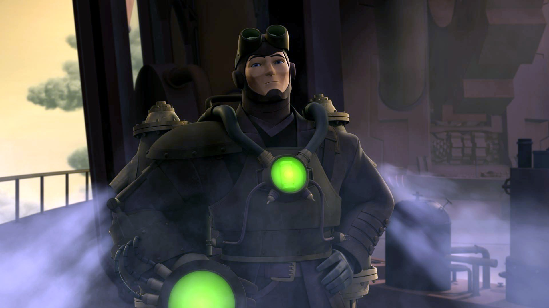 Green Lantern Animated - Steampunk