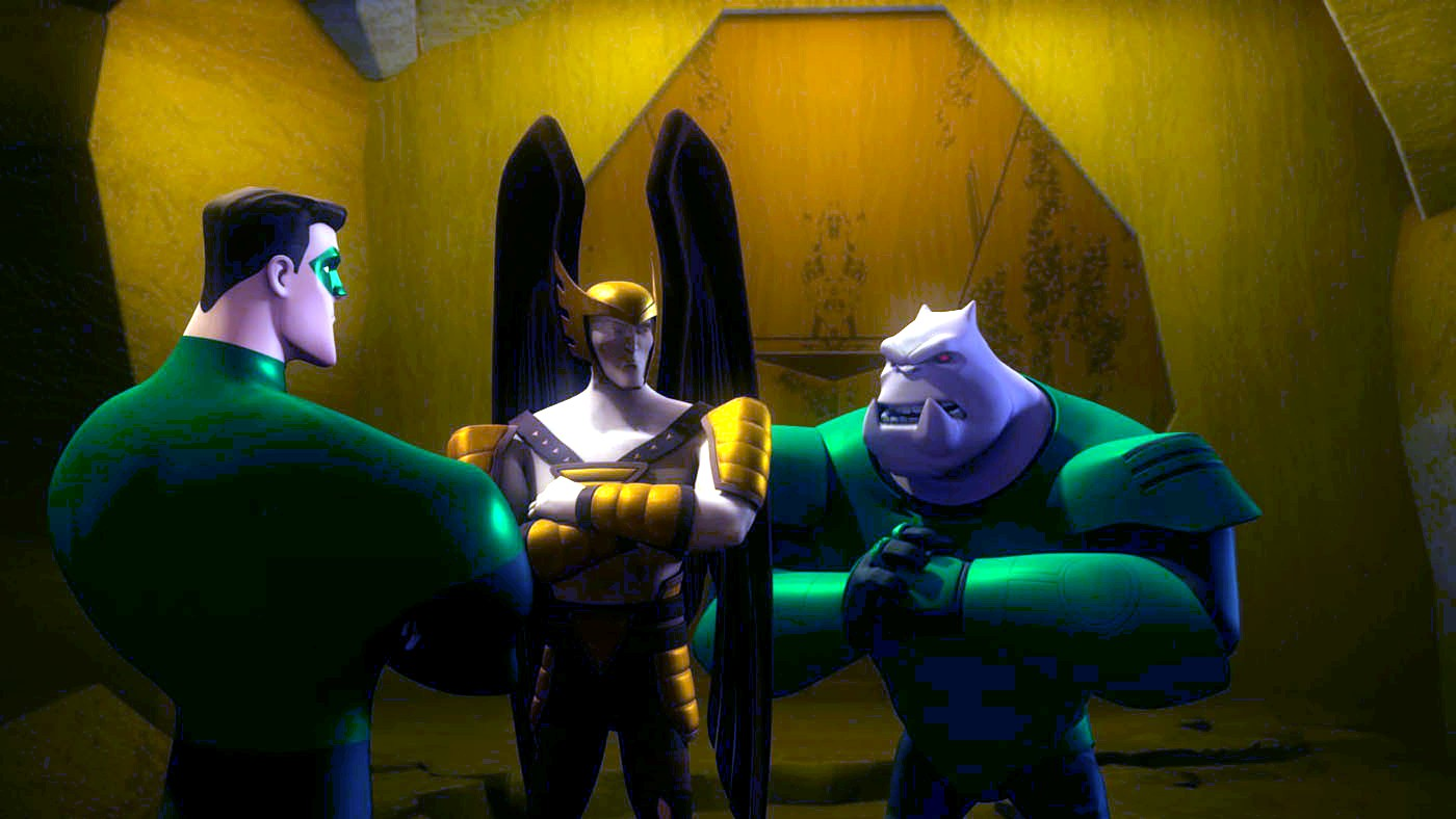 Green Lantern Animated - Thanagar