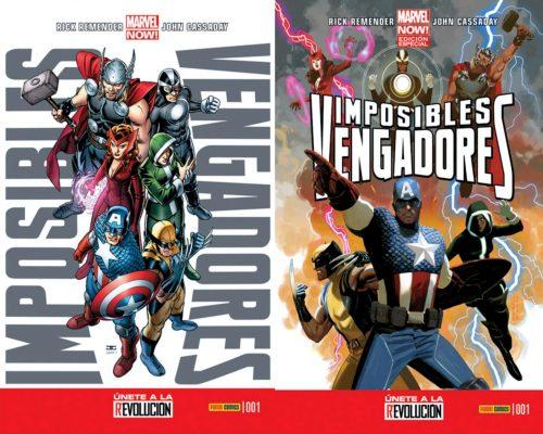 Imposibles Vengadores Nº01
