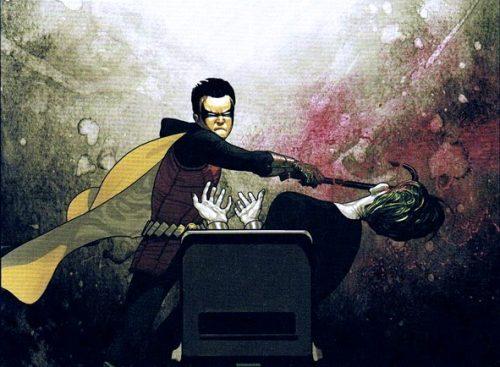 Robin - Damian Wayne vs Joker