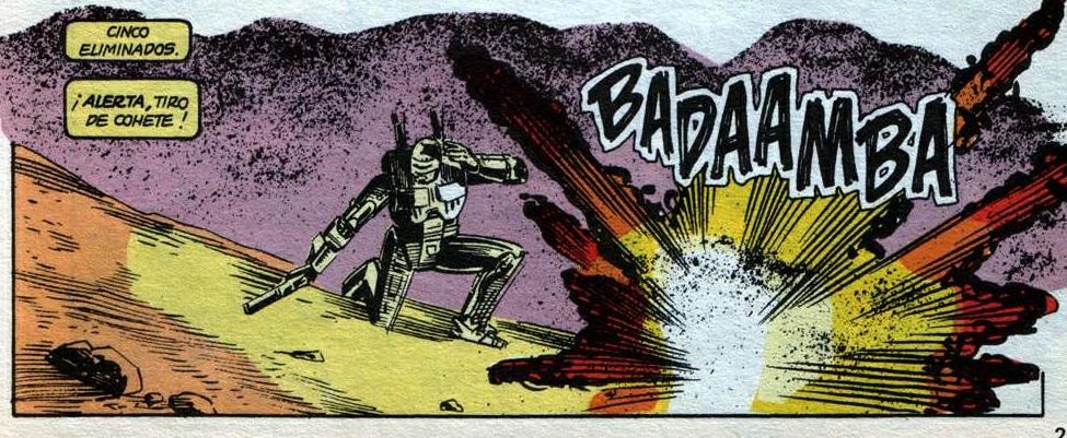 Robocop en España, según Marvel