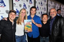 DC Entertainment And Warner Bros. Host Superman 75 Party At San Diego Comic-Con