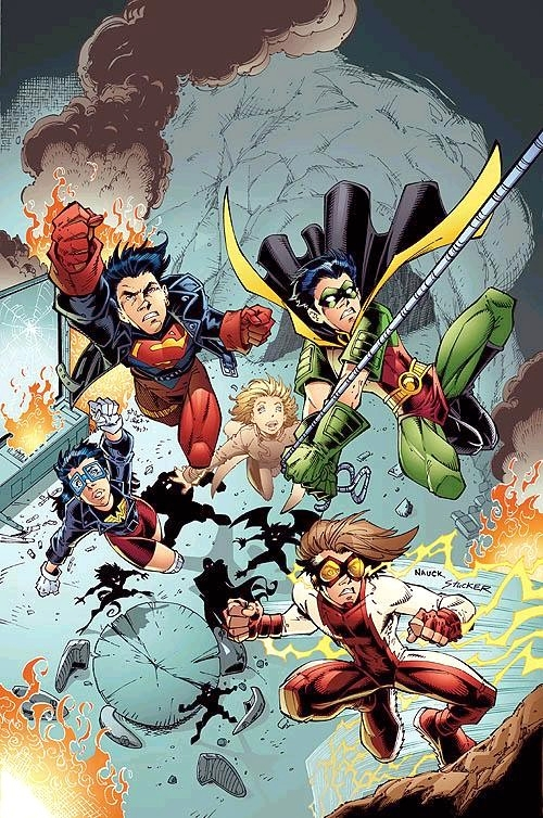 Young Justice (Cómic) 01