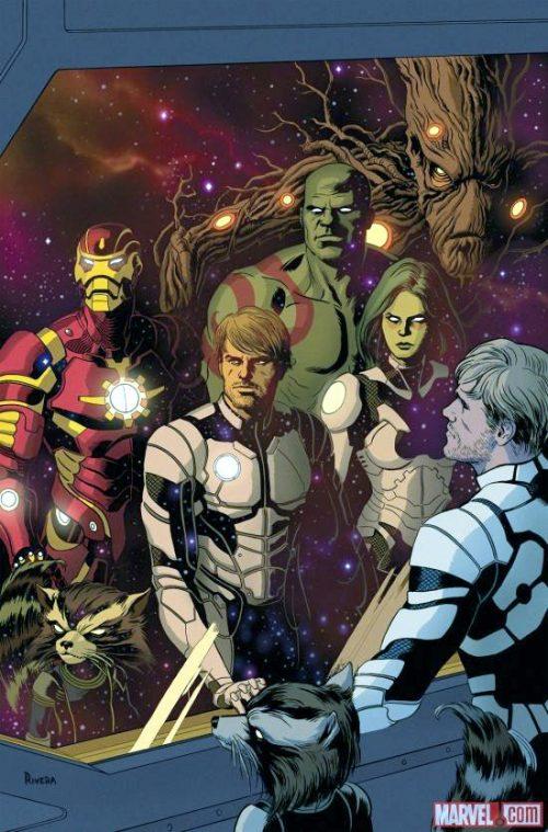 Guardianes de la Galaxia By Paolo Rivera.