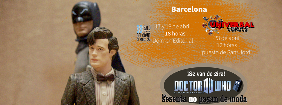 La década de los 60 y Doctor Who convergen en el Salón del Cómic de Barcelona