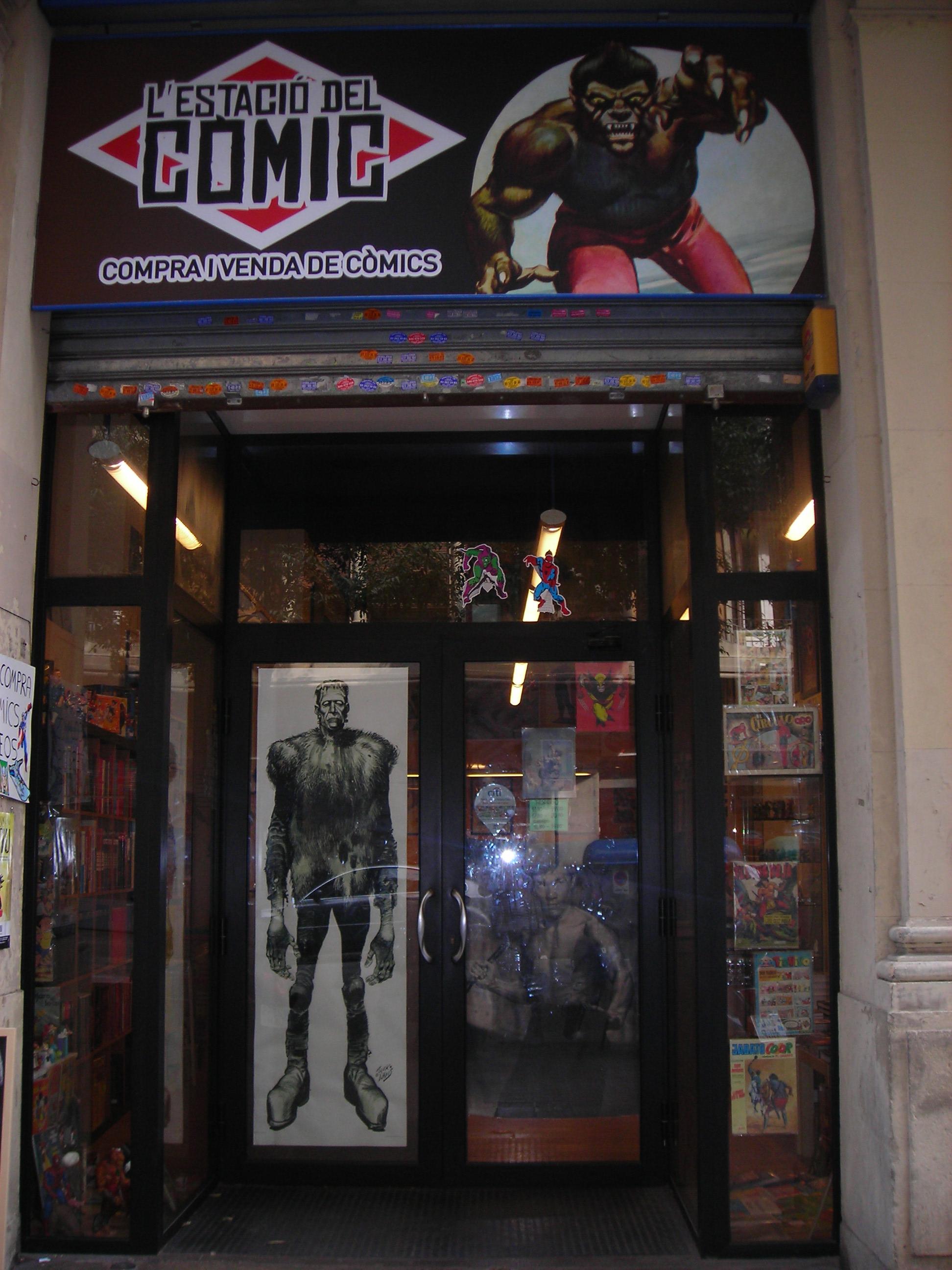 Entrevista con el librero: La Estación del Cómic, Barcelona