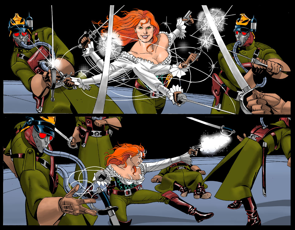 lady sabre