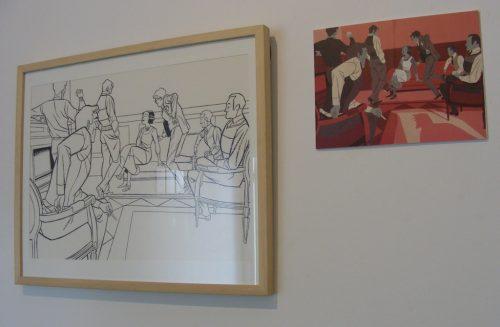 Exposición José Luis Ágreda en Tetera y Kiwi
