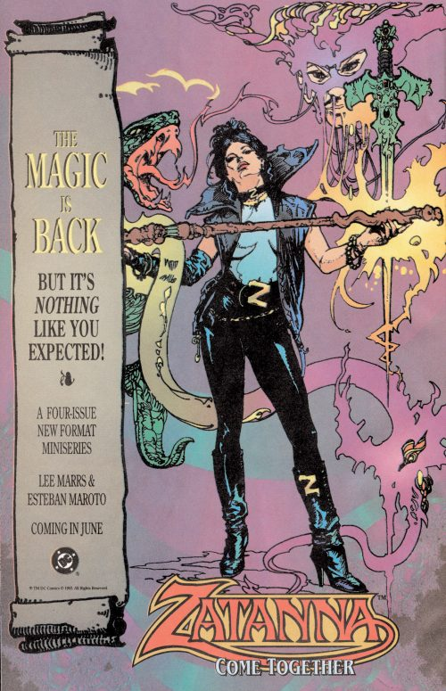 zatanna-advert-1993-maroto