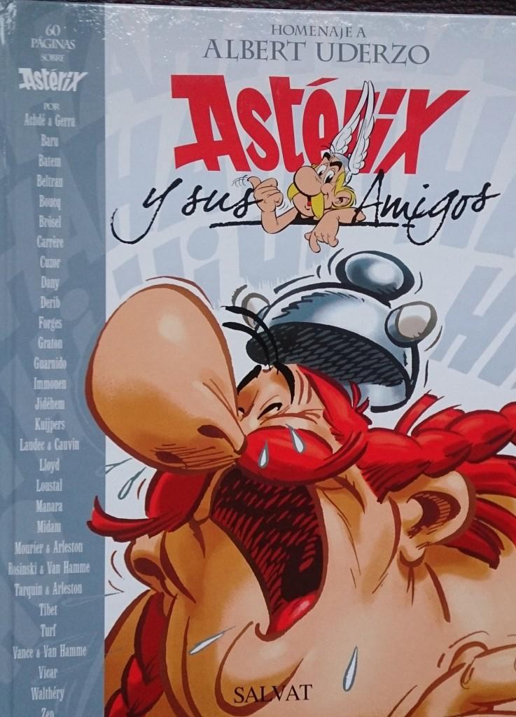 #SemanaAsterix: Astérix y sus amigos.