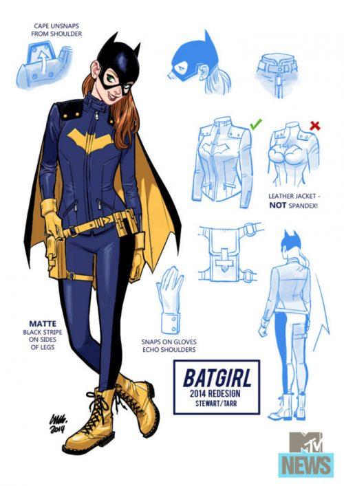batgirl rediseño