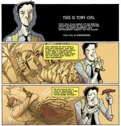 Descripción de los poderes de Tony