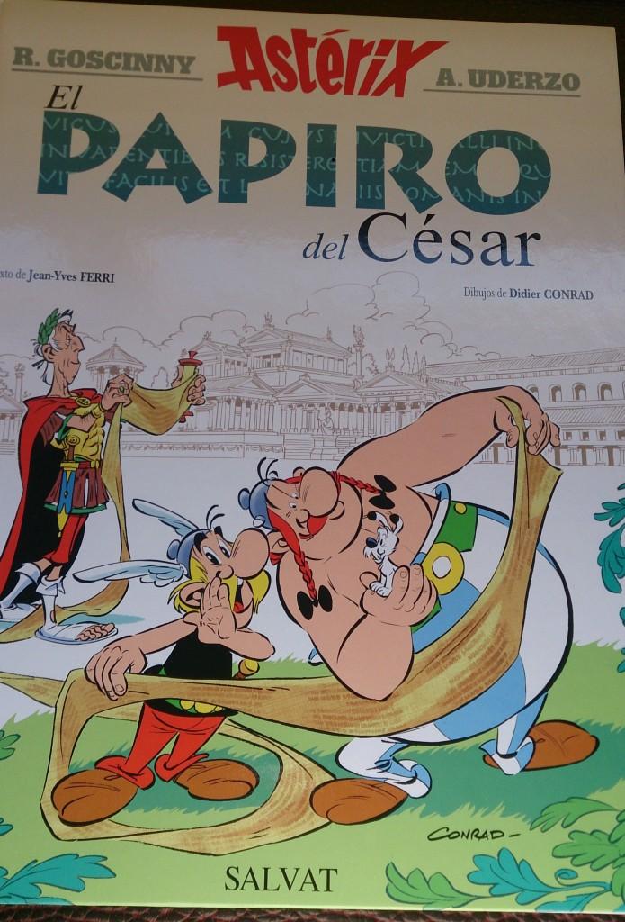 #SemanaAsterix: El Papiro del César.
