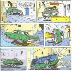Ejemplo de maltrato automovilístico