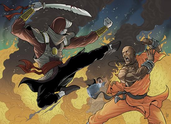 Shaolin Mutants color