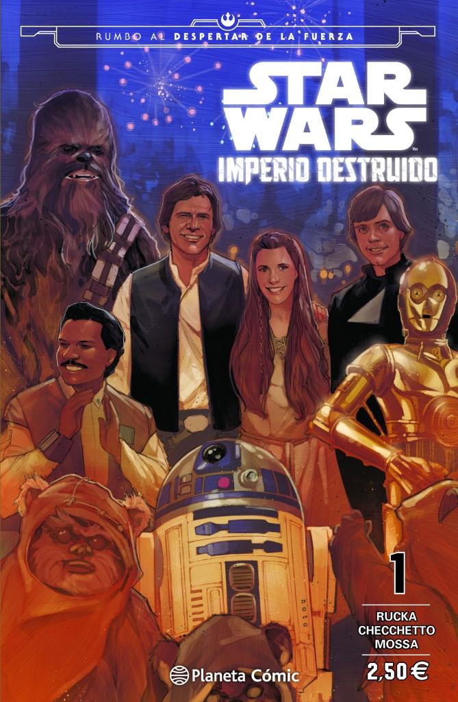 Reseña: Imperio Destruido #1-4 y otras reflexiones sobre Star Wars