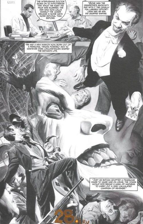 Batman Black & White Ross