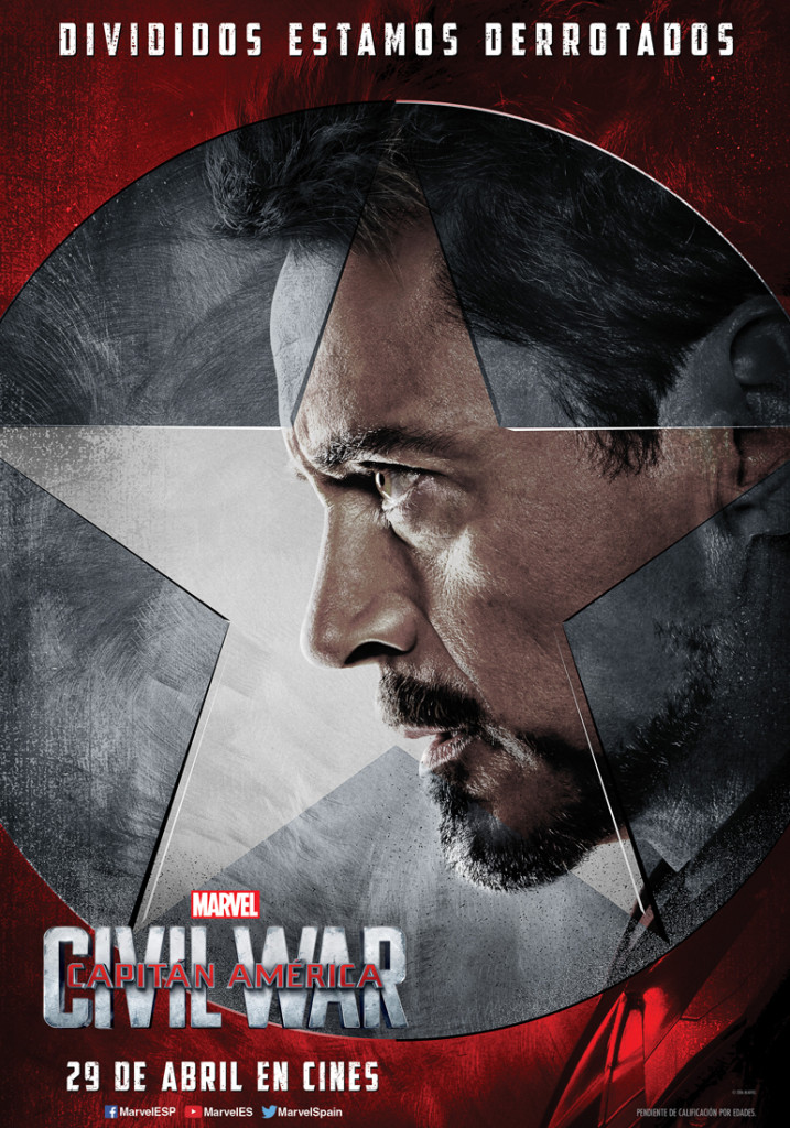 Nuevos posters de personajes de Capitán América: Civil War (II)