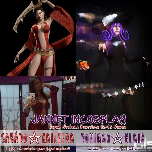 X JW BCN Jannet cosplay