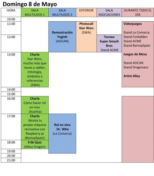 Expomanga de Novelda Domingo 8 de Mayo