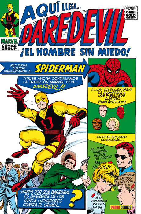 Marvel Gold Daredevil 1