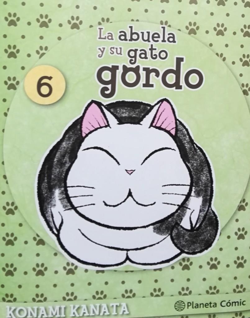 La Casa de Té de Lamastelle-san: La Abuela y su gato gordo 6.