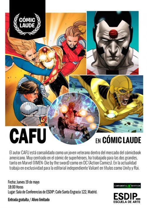 Cartel_CAFU_Cómic_Laude