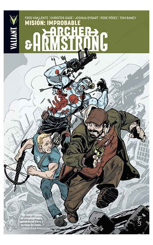 Reseñas desde Star City: Archer&Armstrong 5: Mision: Improbable