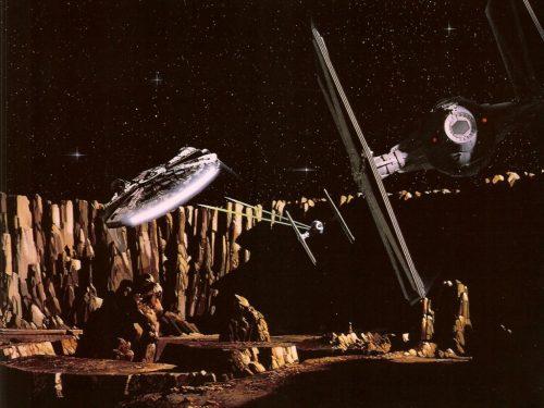 asteroid field star wars