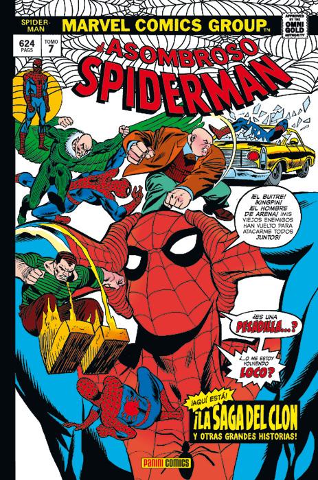 Marvel Gold. El Asombroso Spiderman 7: La Saga del Clon
