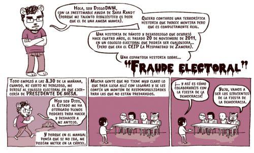 UNA HISTORIA DE FRAUDE ELECTORAL