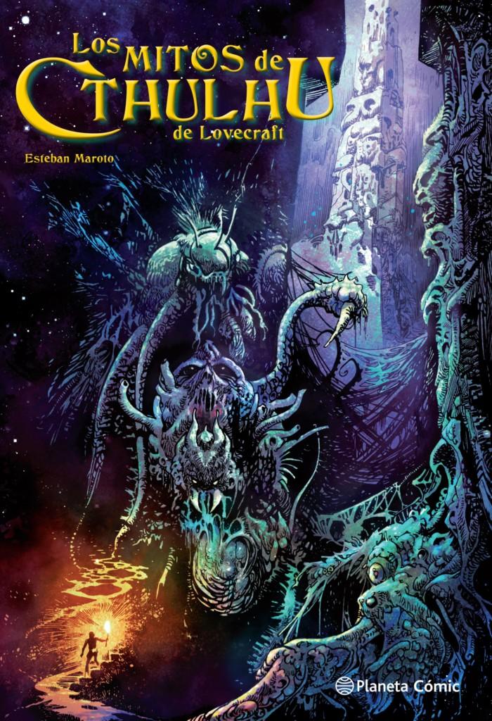 Los Mitos de Cthulhu de Lovecraft, por Esteban Maroto