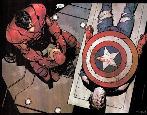 la muerte del capitán américa 2