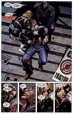 la muerte del capitán américa 3