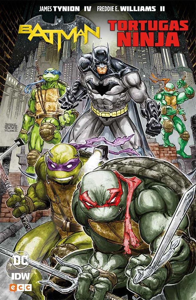 Reseña: Batman / Tortugas Ninja