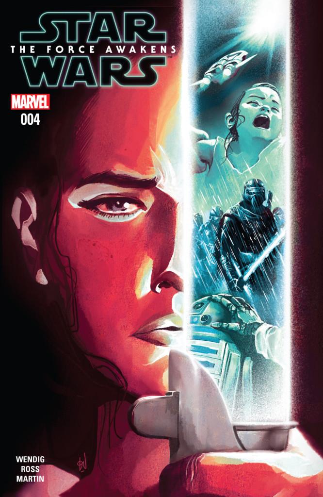 Reseña: Star Wars: El despertar de la Fuerza (cómic) #4