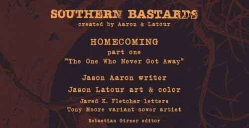 Southern Bastards 9 HOMECOMING