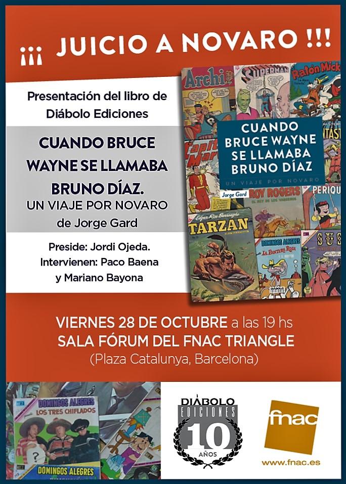 Presentaciones Diábolo en Madrid y Barcelona
