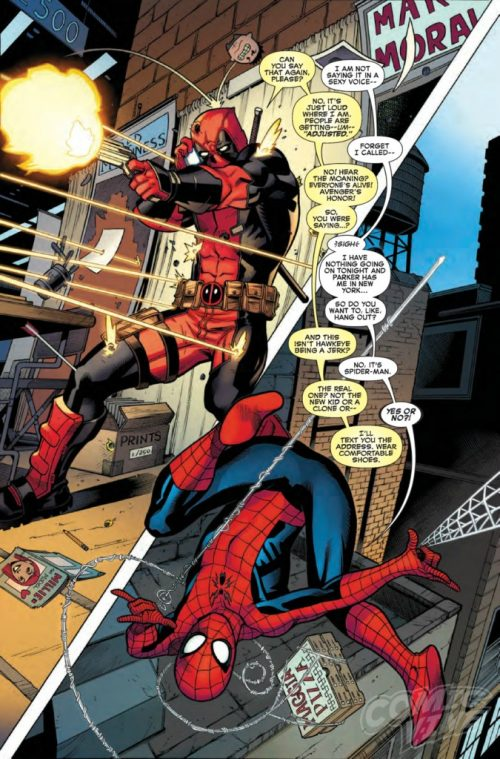 Spiderman / Masacre