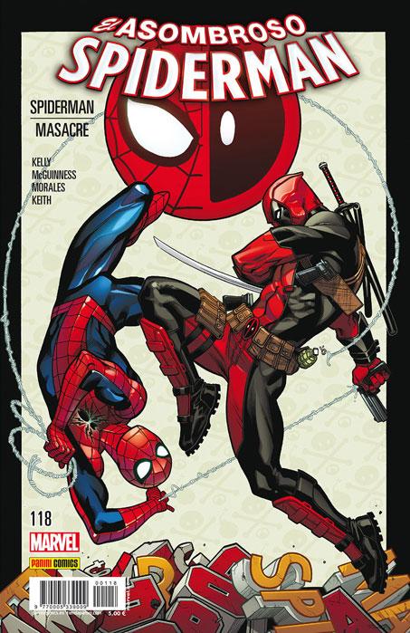 Asombroso Spiderman 118-119: Spiderman / Masacre