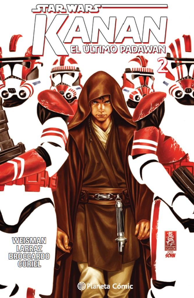 Reseña: Star Wars. Kanan, el último padawan #2