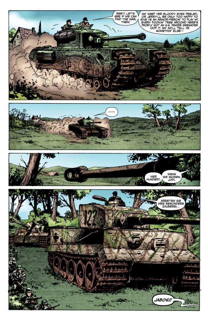 Reseña: Battlefields #3. Los Tanquistas