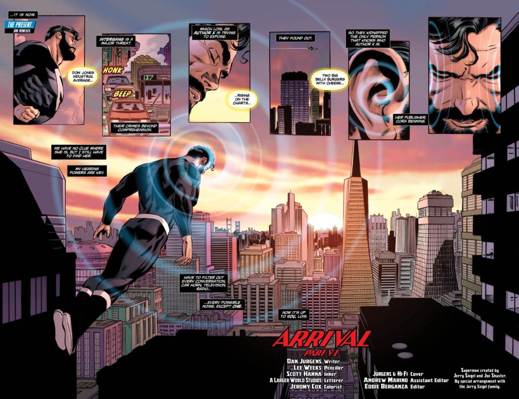 Superman: Lois y Clark - La llegada 01